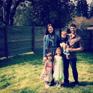 DeMello Family spring 2015