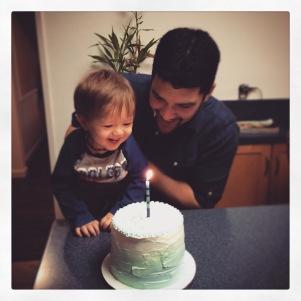 Carver's 1st Birthday!