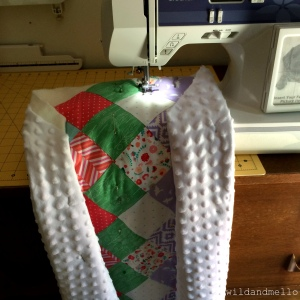 Sewing The Diagonal Lines
