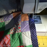 Sewing Then Binding On The Front